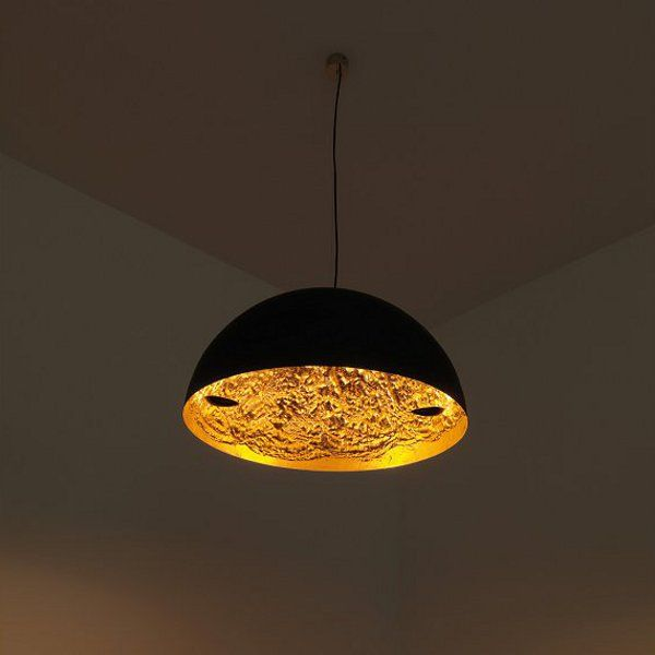 Stchu-Moon 02 Pendant light, gold