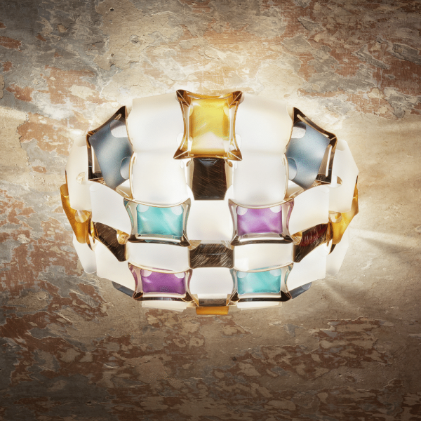 Mida Wand-/Deckenlampe, M, mehrfarbig