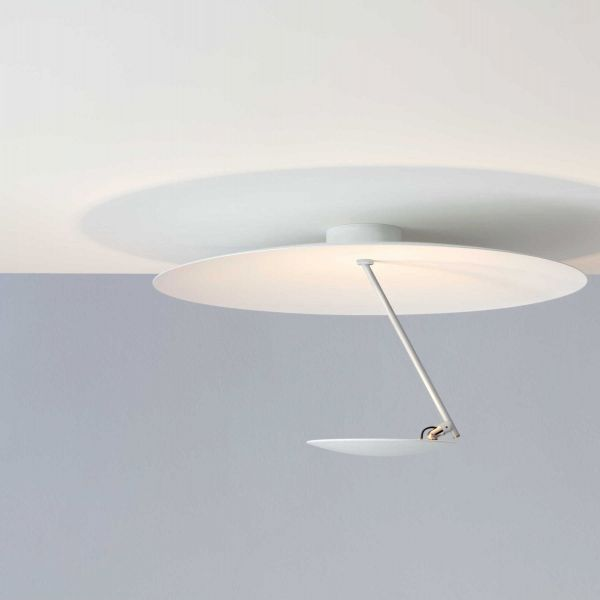 Lederam C150 ceiling light, complete white