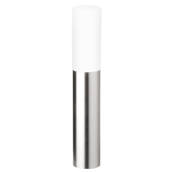 Aqua Polo floor lamp short stainless steel