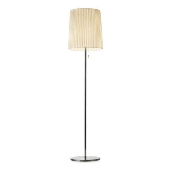 Romeo 160 pleated fabric Reading-/Floor lamp