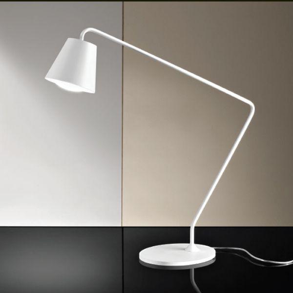 Conus Medium Table Lamp With White Finish