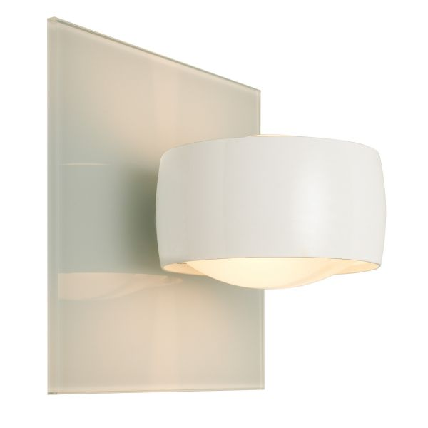 Grace Unlimited LED wall sconce, White / White