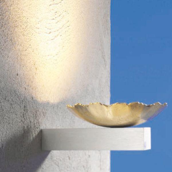 Medusa Wall lamp, gold leaf