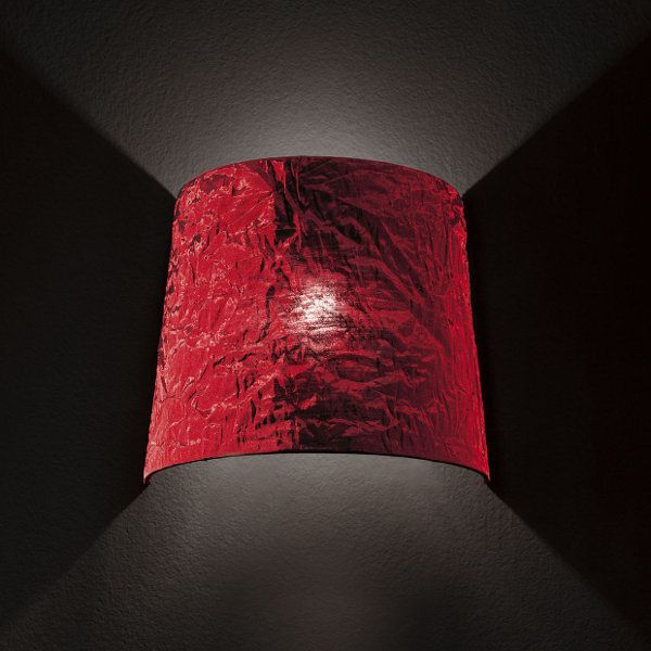 Dress PA Wall light, red