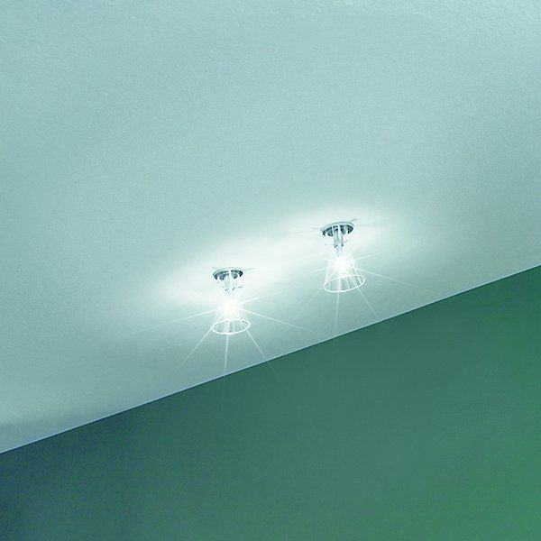 Two Memory XXS F recessed spots