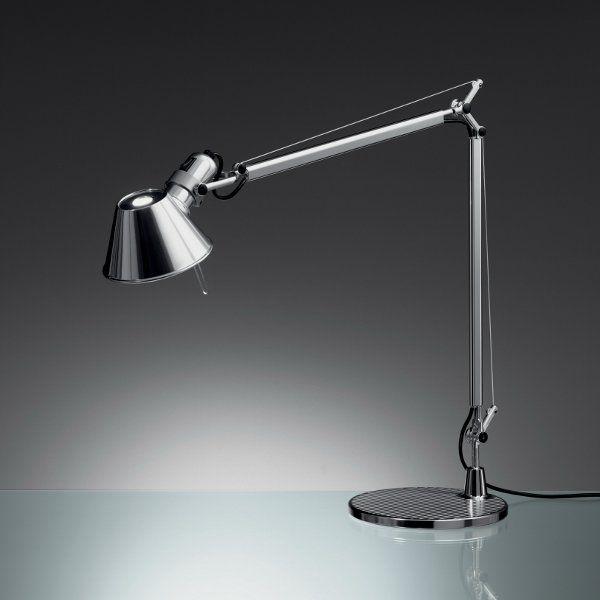 A Tolomeo mini/mini LED table light with table base, Ø 20 cm