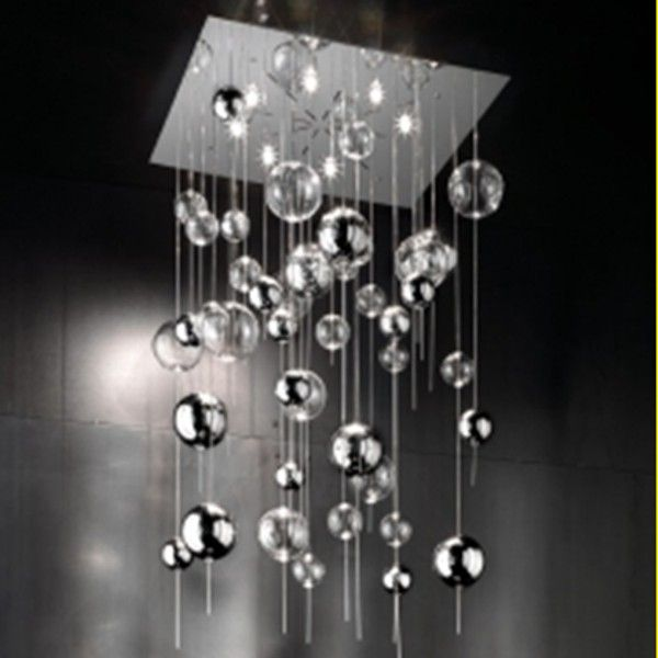 Niagara SP H chrome-crystal Ceiling lights