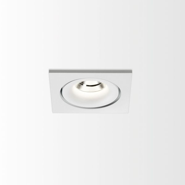 Deltalight, Reo 1 ceiling recessed spotlight, color white