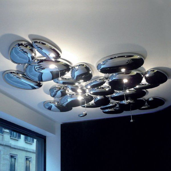 Modular example of a Skydro wall sconce/ceiling light