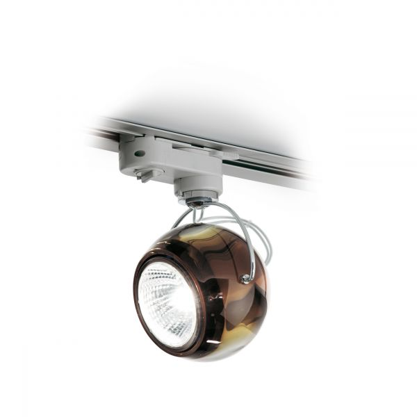 Beluga ceiling light copper