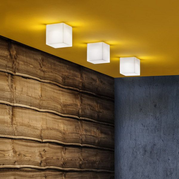 Beetle Cube Wall / Ceiling light small