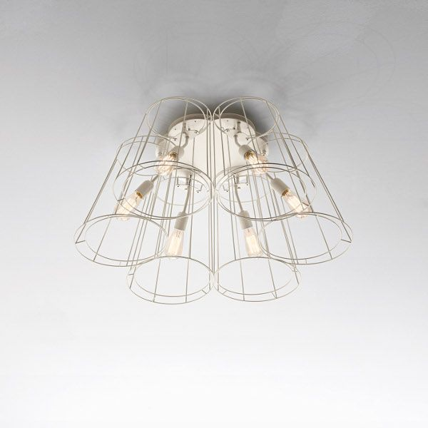 Florinda Desnuda Ceiling Light white