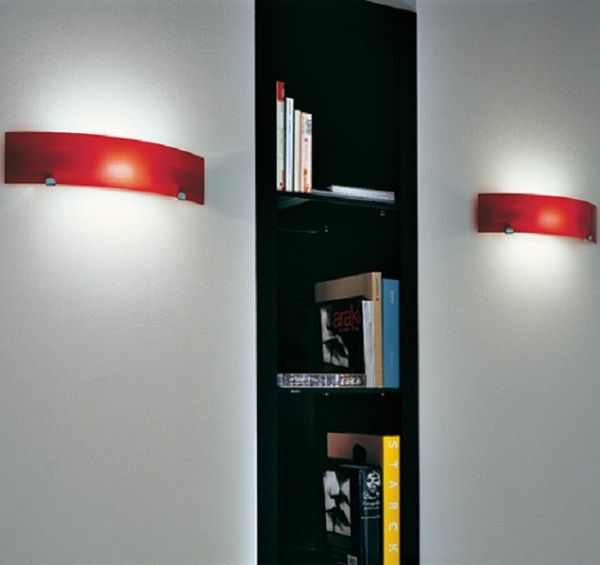 Torino LP Wall light red