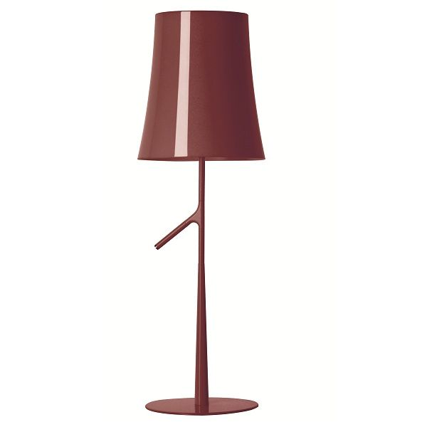 Birdie Table light, amaranth red