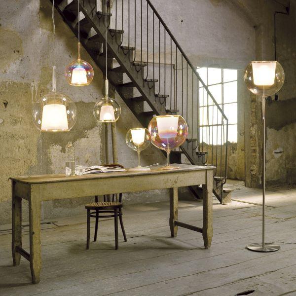 Glo Floor Lamp - family transparent