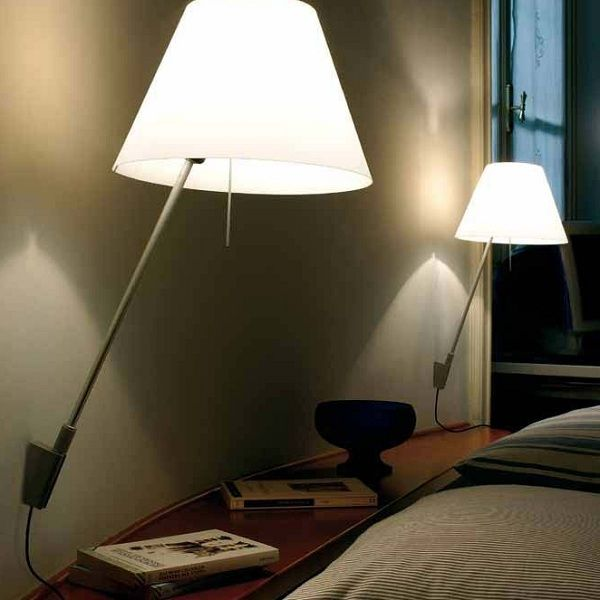 Costanza D13 a.i.f. Wall sconce, example in living area