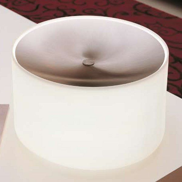 Round TA/Glass Table light, white