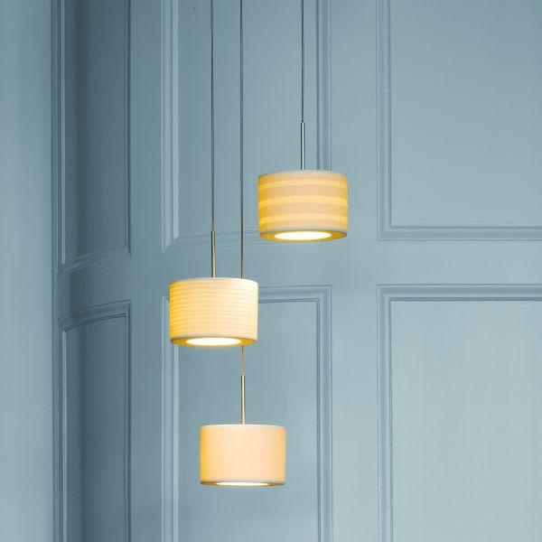 Tjao Pura LED Pendant Light, different lamsphades
