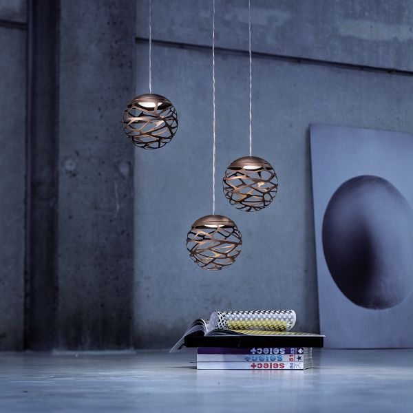 Kelly Cluster 3 Spheres Pendant light