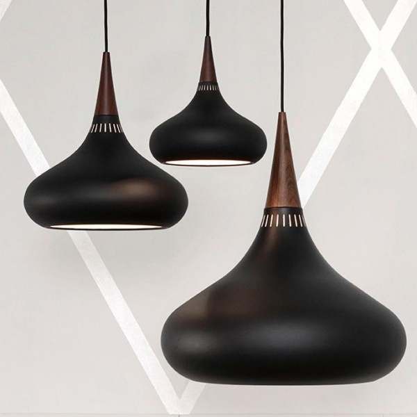 Orient Black Pendant Light