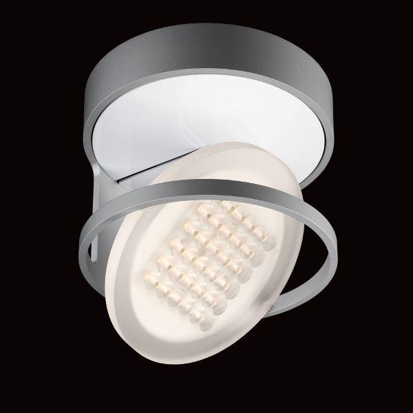 Rim R 36 Ceiling light, silver matt