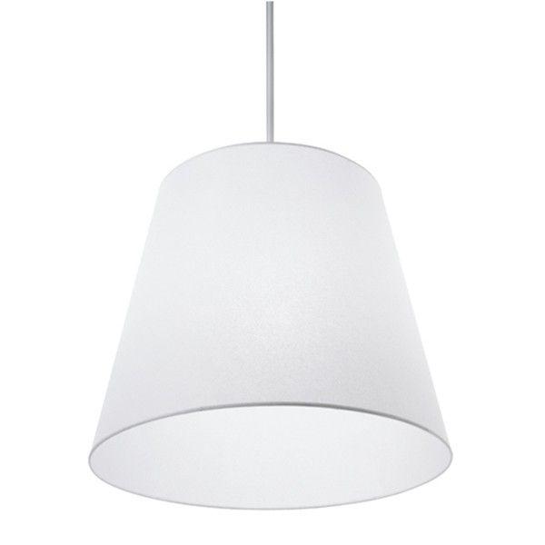 Gilda Sospensione pendant light synthetic parchment paper white