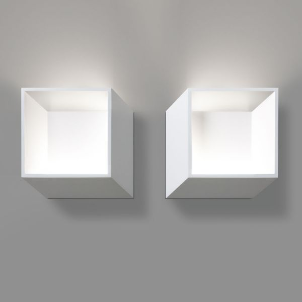 Deltalight, Forty- 5, left and right wall light, white