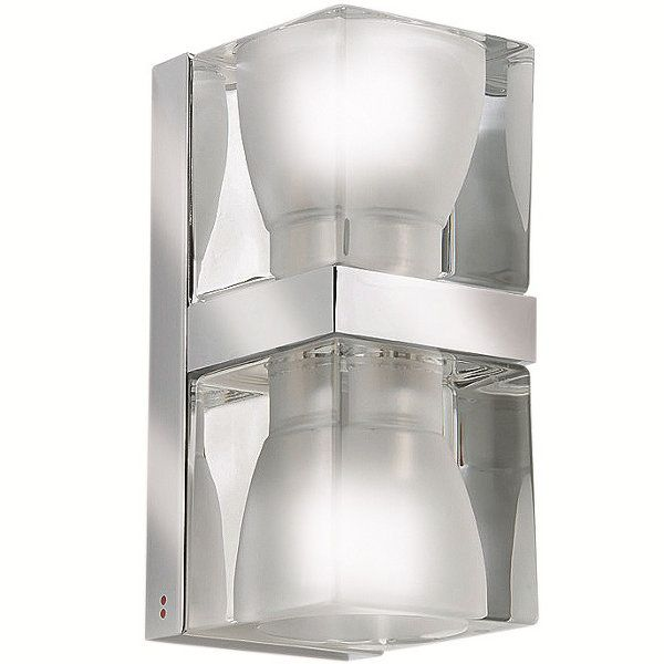 Cubetto Glass crystal D01/02 Wall sconce