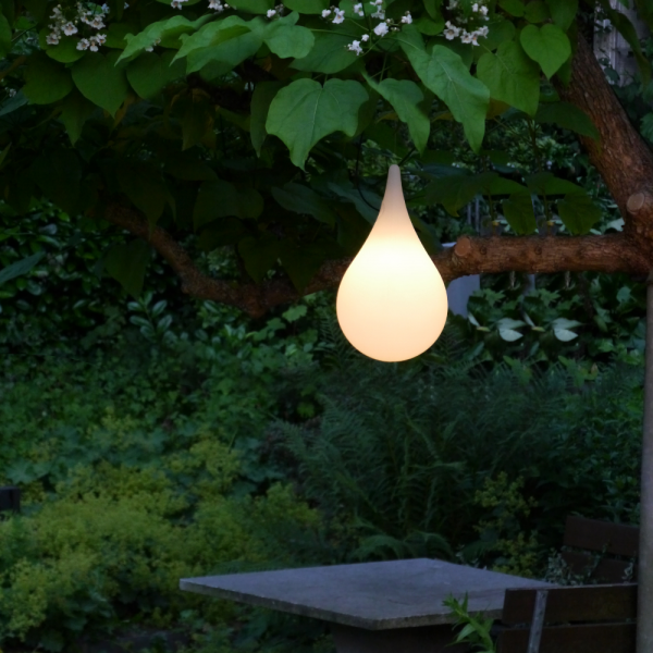 Liquid Light Drop Outdoor Pendant light