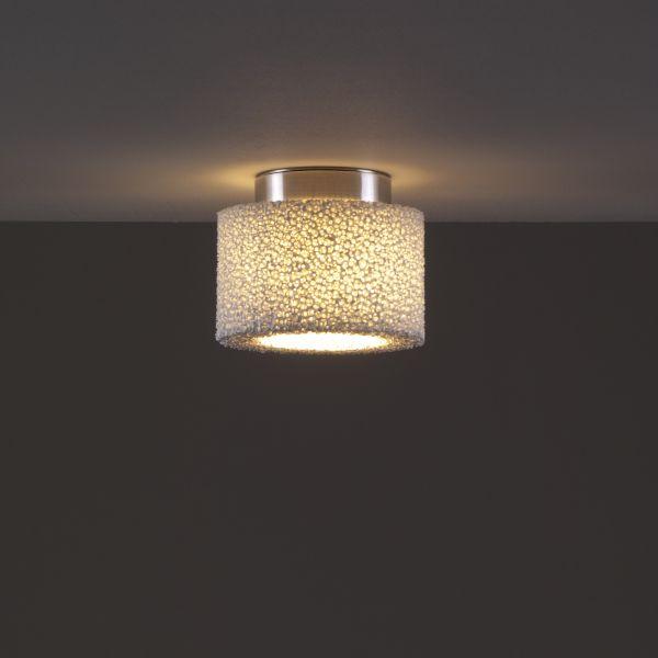 Reef LED ceiling light - aluminium brushed