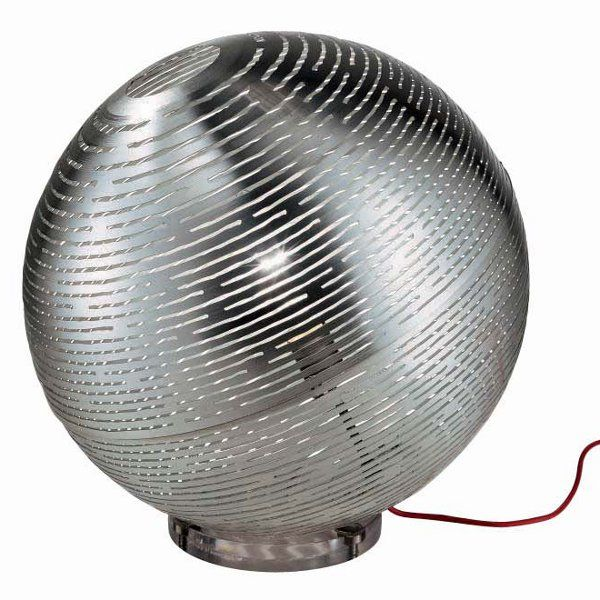A tinned steel Magdalena 50 floor lamp