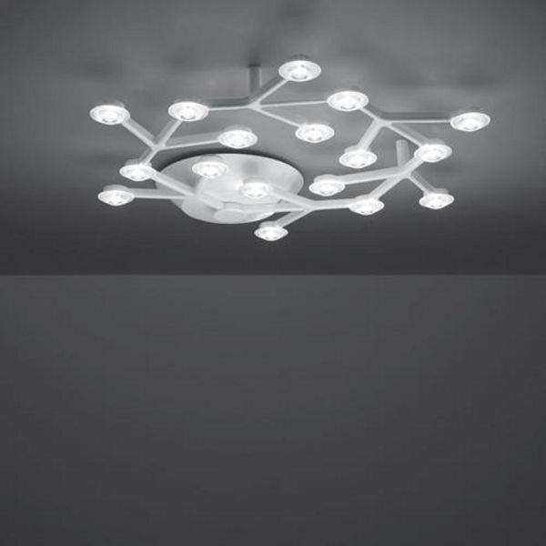 LED Net circle soffitto ling light