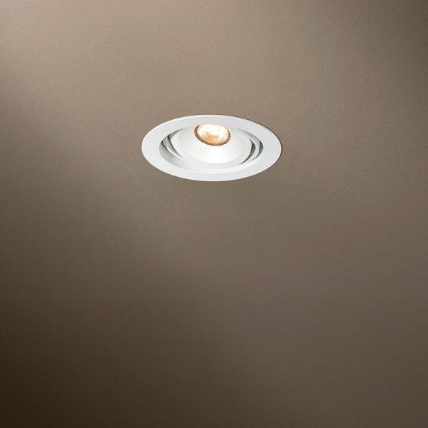 Eclips Rund Beaufort Recessed Light white
