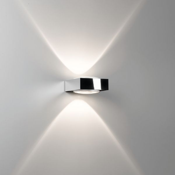Vision Wall sconce Halo chrome