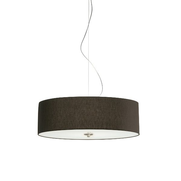 Cilindro D60 Cotton/Polyester E27 Pendant Light