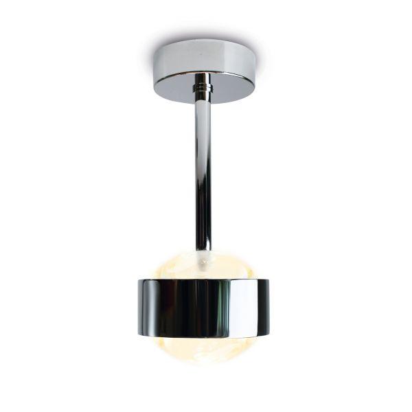 Puk Eye LED Ceiling Light, chrome