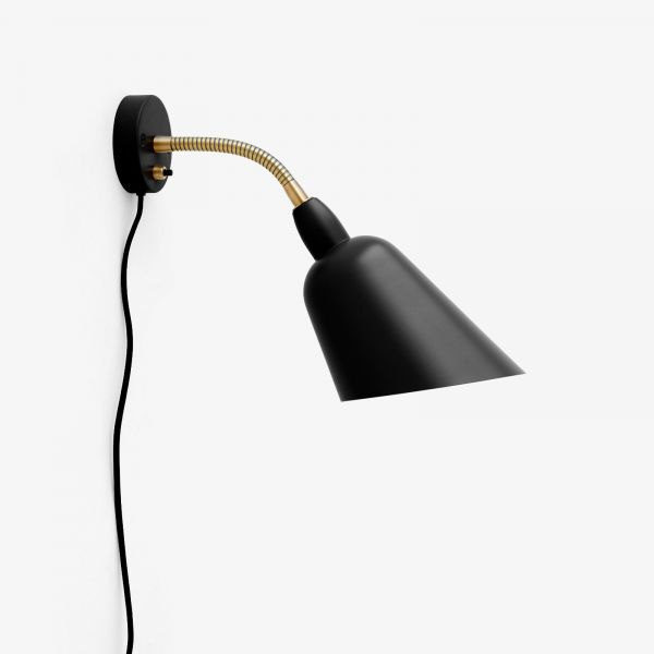 Bellevue AJ9 wall light black