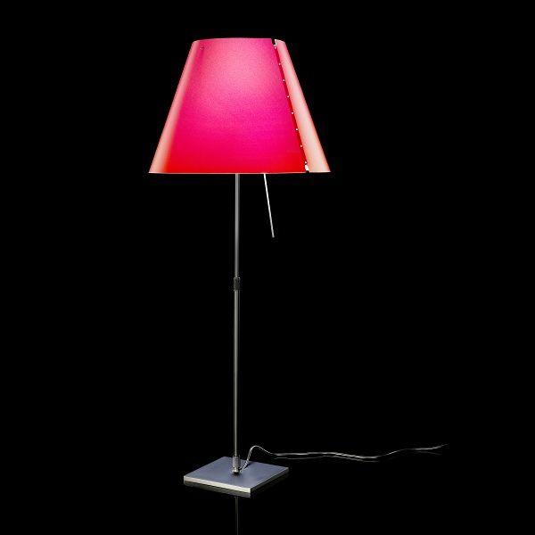 Costanza D13/i./i.flu Table light, red