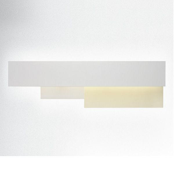 Fields 2 Wall sconce, white