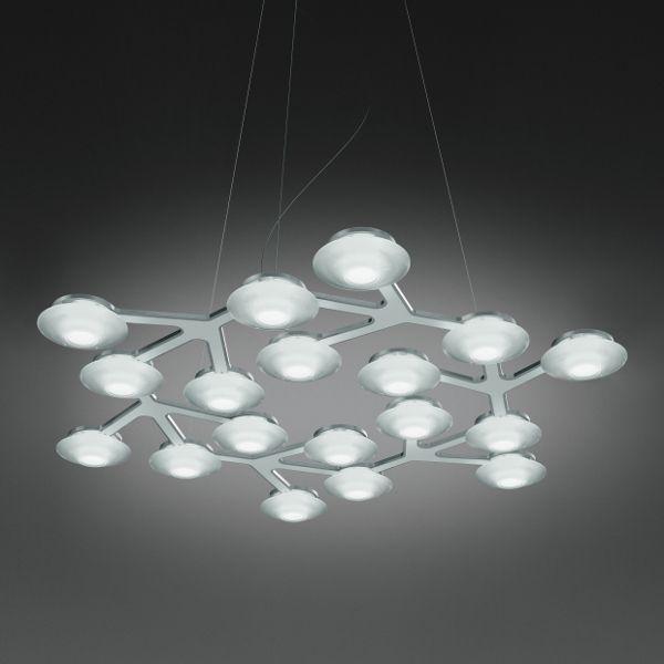 LED Net Circle pendant light