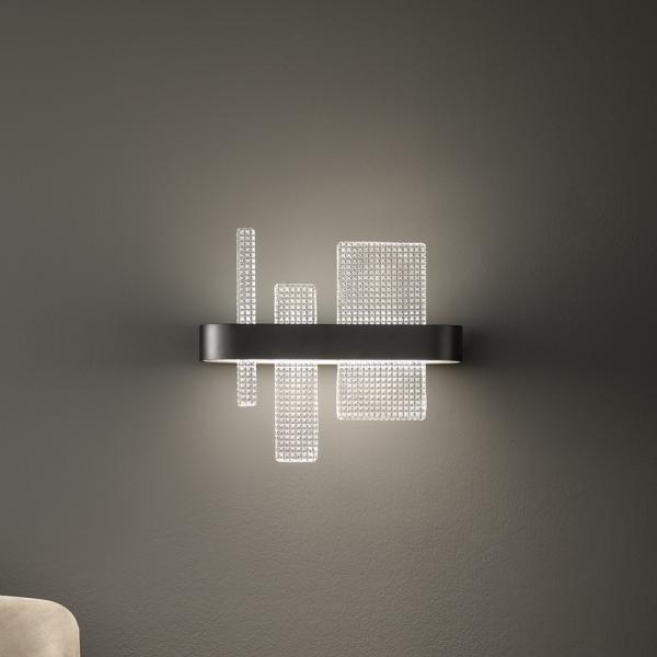 Ribbon A37 wall lamp