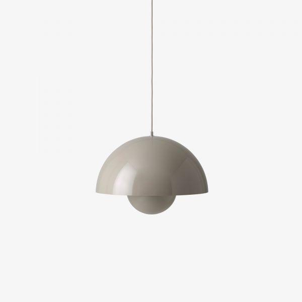 &tradition Flowerpot VP2 pendant light, grey beige