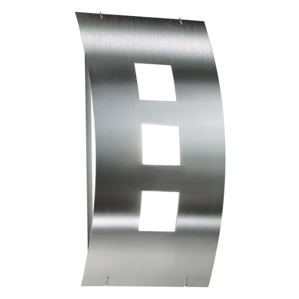 Aqua Toma wall sconce stainless steel