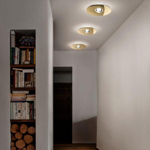 Bugia Single Ceiling Light, Gold