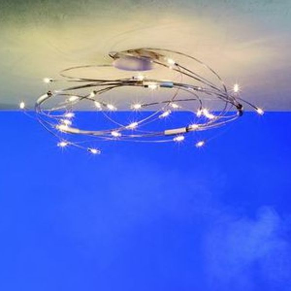 Spin 24 Ceiling Lamp, gold plated