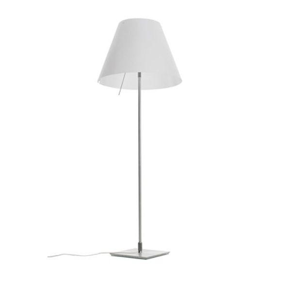 Costanza D13 t..i.f./flu Floor light, white